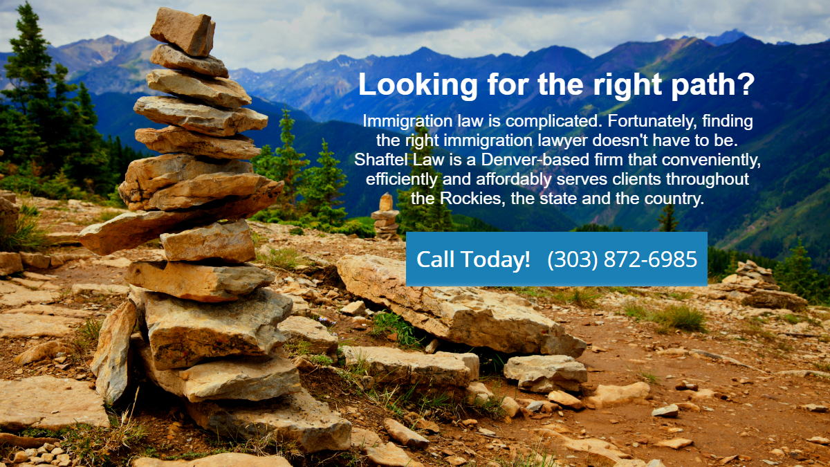 Aspen, Colorado trail representing immigration services of Denver immigration firm Shaftel Law